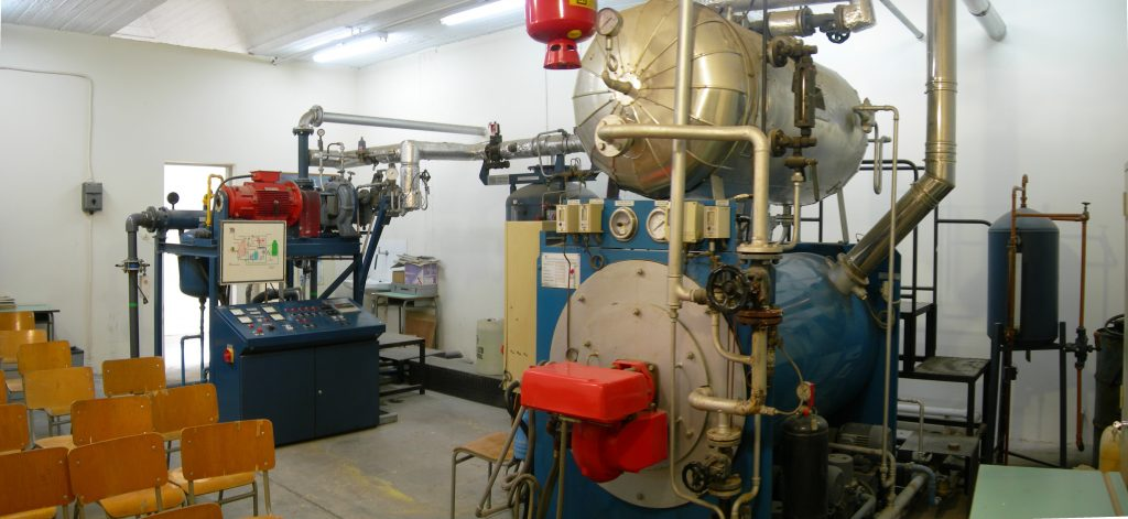 Steam Boilers and Steam/Gas Turbines Lab